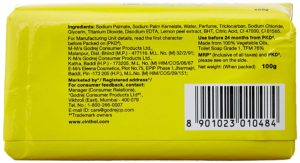 Cinthol Lime Soap, 100g (Pack of 5) with Free Soap, 100g