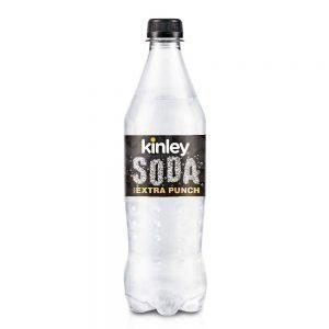 750 ml PET Bottle Kinley Sparkling Water - Club Soda