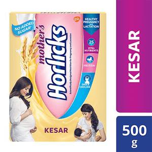 Mothers Horlicks - Kesar Flavour 500 g
