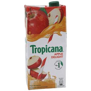 1L Tropicana fruit juice delight - apple