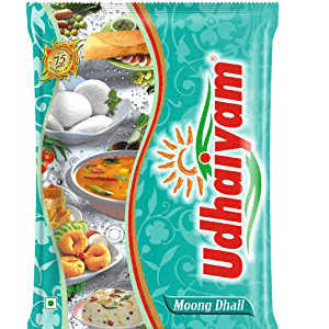 Udhaiyam Dhall - Moong 500 g Pouch