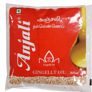 Anjali Oil - Gingelly 500 ml Pouch