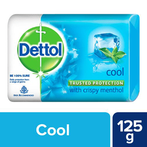 125 g - Dettol Cool Bathing Bar Soap