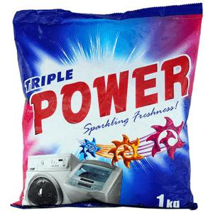 1 kg - Power Detergent Powder Triple Power