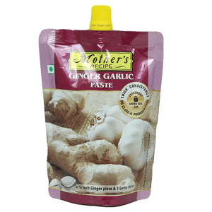 200 g Pouch Mothers Recipe Paste - Ginger and Garlic