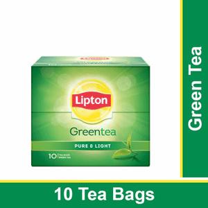 10 Tea bags Lipton Green Tea - Pure & Light
