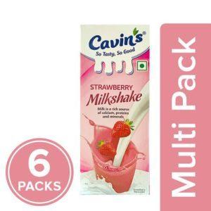 cavins milkshake strawberry