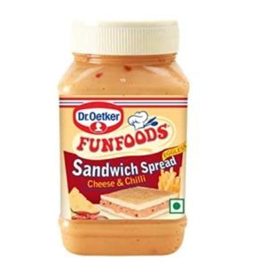 #1 Best Funfoods sandwich spread cheese and chilli