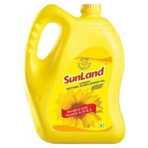 Best Sunland Sunflower Oil 5L Price Online