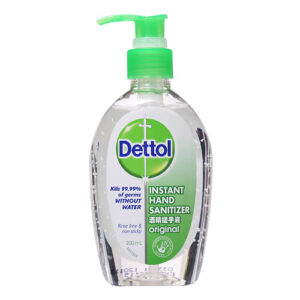 200ml dettol hand sanitizer original