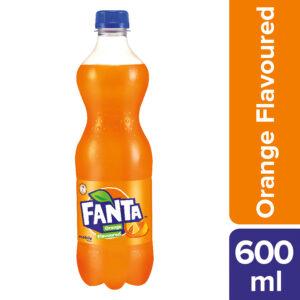 600ml Fanta Soft Drink Orange Flavour