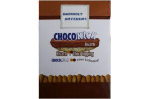 CHOCOKICK BISCOTTI BAR - CHOCO TOPPING (25GRM X10NOS)