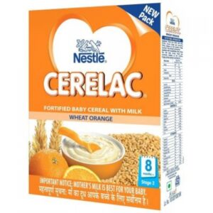 300g Cerelac Wheat Orange {0-2 years }