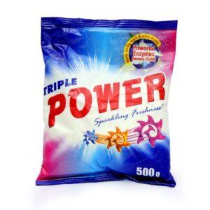 500g Triple Power Detergent Powder