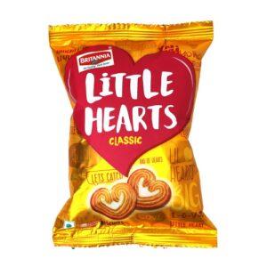 Britannia Little Hearts Biscuit